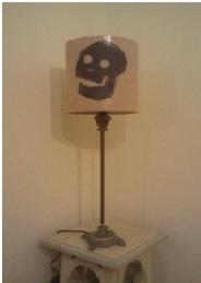 Lamp shade silhouette
