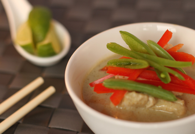 Turkey green Thai curry
