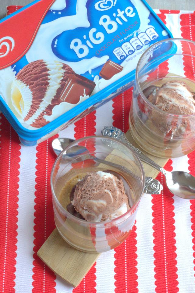 Peanut butter ice cream cups