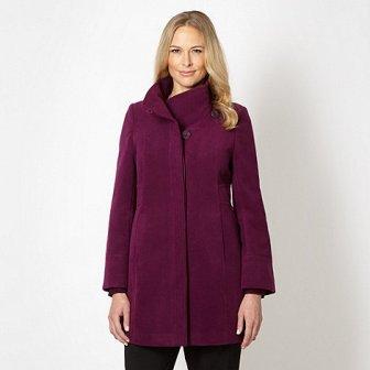 Debenhams Purple Coat
