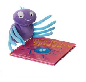 Incy Wincy Spider Book and Toy