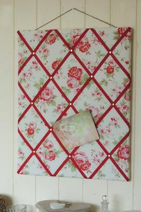 English Rose Memo Board