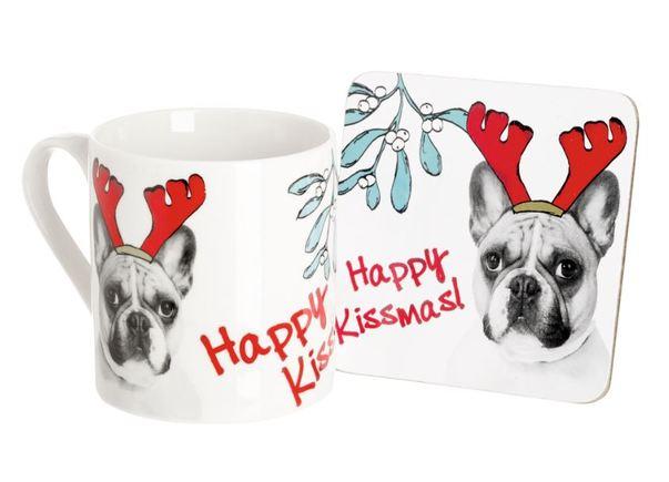 Ben De Lisi mug and coaster set