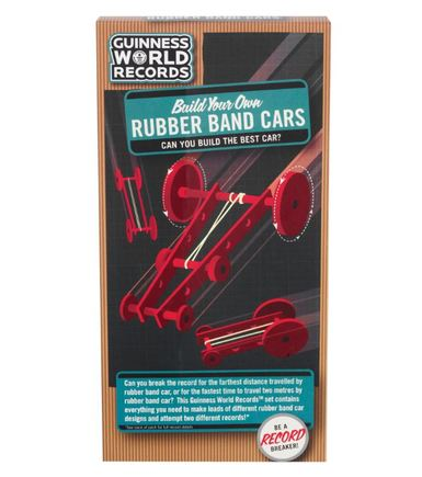 Rubber Band Cars