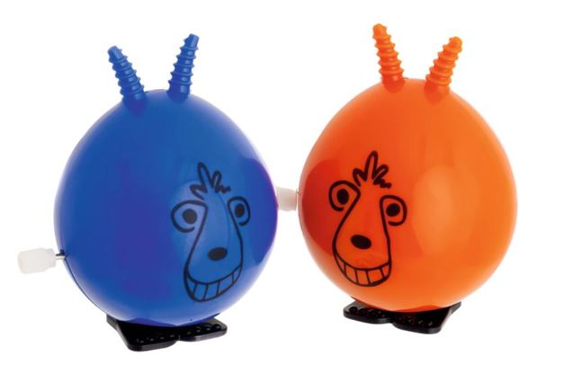 Novelty wind up space hoppers