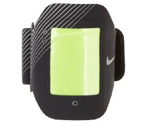 Nike black phone arm band