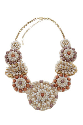 Monsoon Pearl Collar Necklace