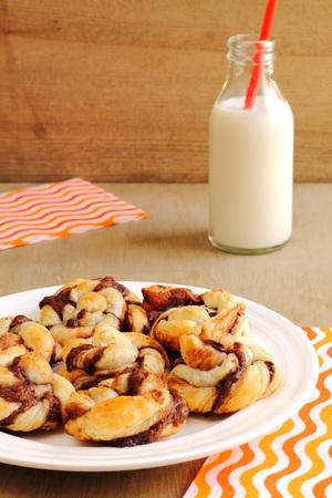 Nutella spirals