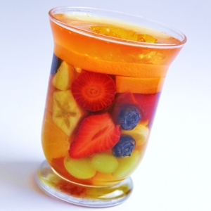 Jelly fruit cups