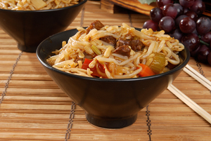 Lamb chow mein