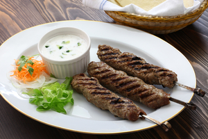 Simple lamb koftas