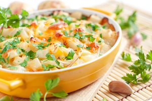 Vegetable potato bake