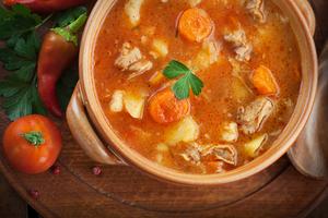 Chilli pork and bean casserole