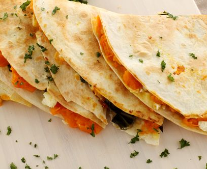30-second quesadillas