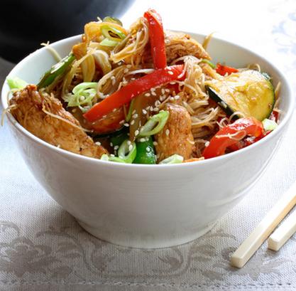 Stir-fried pork with ginger and honey