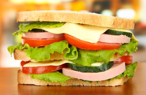 Tower sandwiches