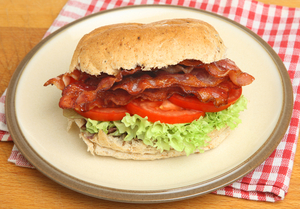 BLT with Hellmanns Light Mayonnaise