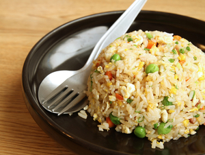 Fishy fried rice