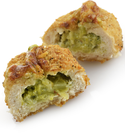 Chicken with cheese stuffing