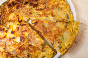 Simple frittata bake