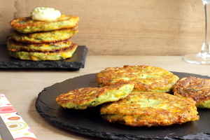 Asian style fritters