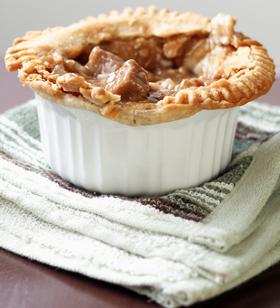 Traditional Guinness pie