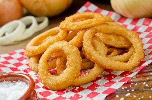 Simple onion fries