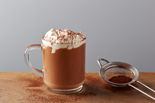 Easy orange hot chocolate