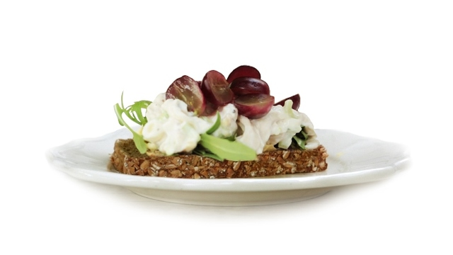 Chicken, Celery, Walnut & Grape with Brennans Wholewheat Brown Bread