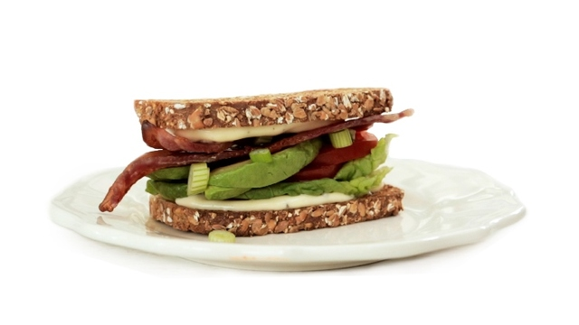 Bacon, Lettuce & Tomato with Brennans Wholewheat Brown Bread