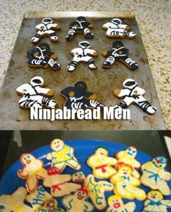 Ninja Cookie Fail