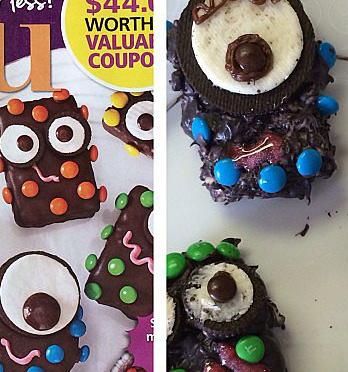 Monster Cake Fail