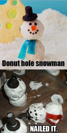 Christmas Treat Fail