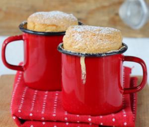 Vanilla mug cake