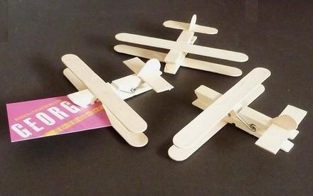 Aeroplane pegs