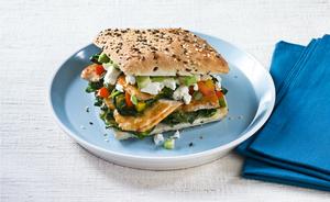 David Gillicks Turkey & Spinach Sandwich