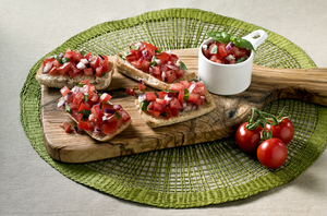 David Gillicks Tomato Bruschetta