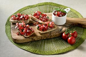 David Gillicks Tomato Bruschetta