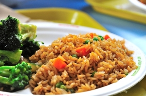 Egg-free fried rice