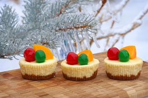 Mini cheese cakes