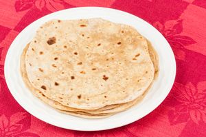 Chapatti, Indian flat bread