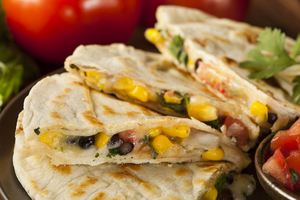 Mexican bean toasties