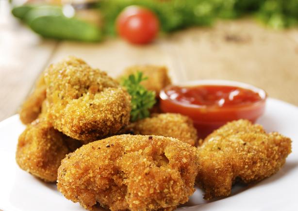 Vegetable nuggets