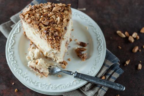 No-bake peanut butter cheesecake