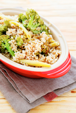 Broccoli and lemon couscous