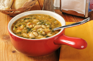 Mixed white bean soup