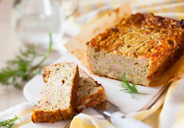Vegetable loaf
