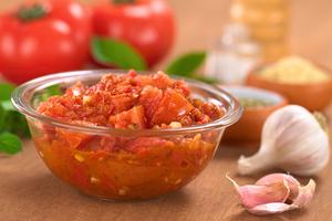 Chunky style pasta sauce