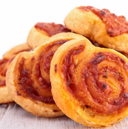 Pinwheel pizza