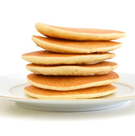 Lunchbox pancakes